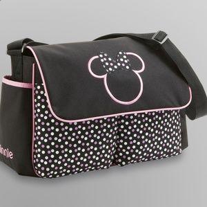 🆕Disney - Minnie Mouse Flap Diaper Bag